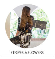 How to wear – Stripes & Flowers