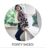 NOW TRENDING – POINTY SHOES