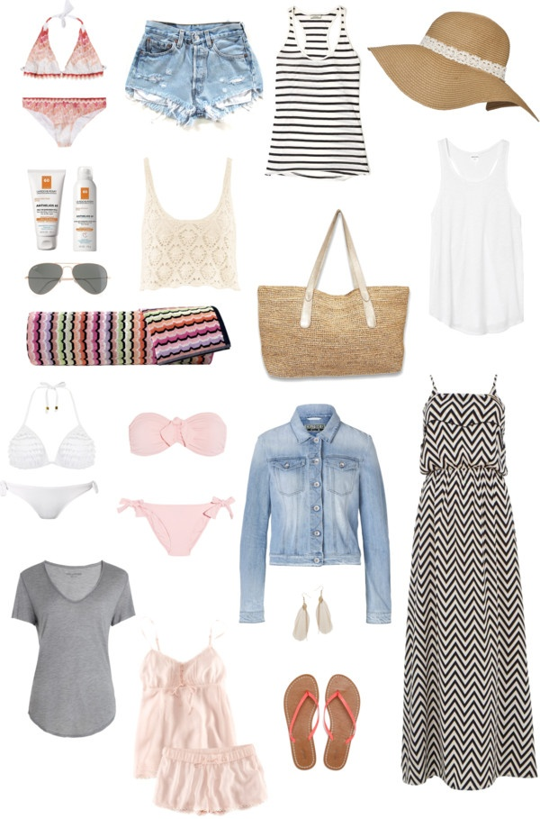 vacation packing summer