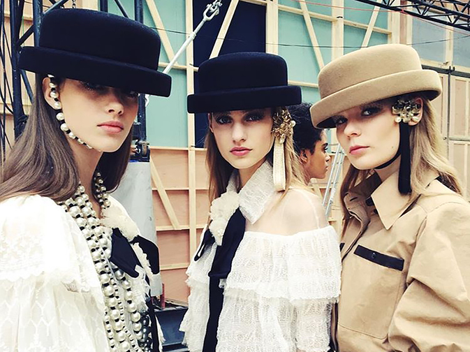 chanel-fall-winter-2016-17-ready-to-wear-focus-riding-hats